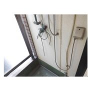 室外洗濯機置場(内装)