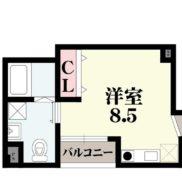 01号室(間取)