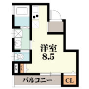 プリッ2α長瀬 201号室