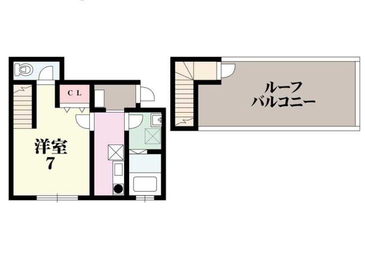 201号室(間取)